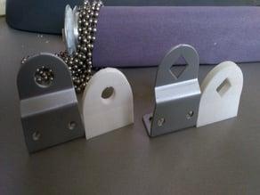 Ikea Enje roller blind mounting brackets