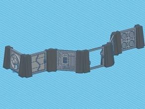 Modular building for 28mm miniature tabletop wargames(Part 1)