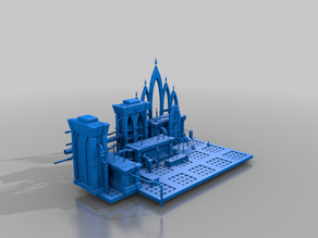 magos workshop - admech - diorama