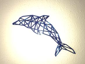 Dolphin 2D Wall Sculpture