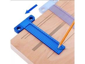 Gauge 60mmX150mm / Messlehre / Drawing / Wood