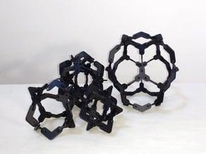 Press fit platonic solids