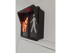 Panneau signalisation WC (pedestrian-crossing light)