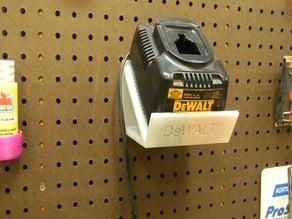 Dewalt Battery holder for Pegboard