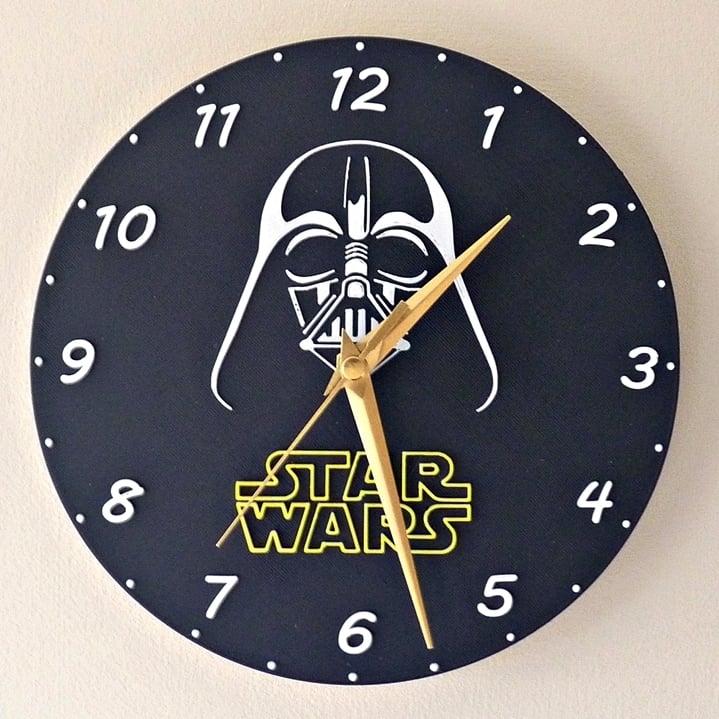 Star Wars kitchen clock