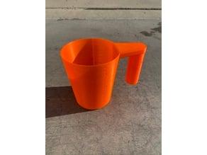 Diatomaceous Earth DE Filter Media Powder Measuring Cup