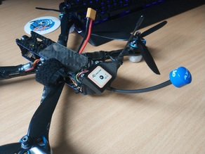 Martian Alien GPS + immortalT + vtx mount for Long Range