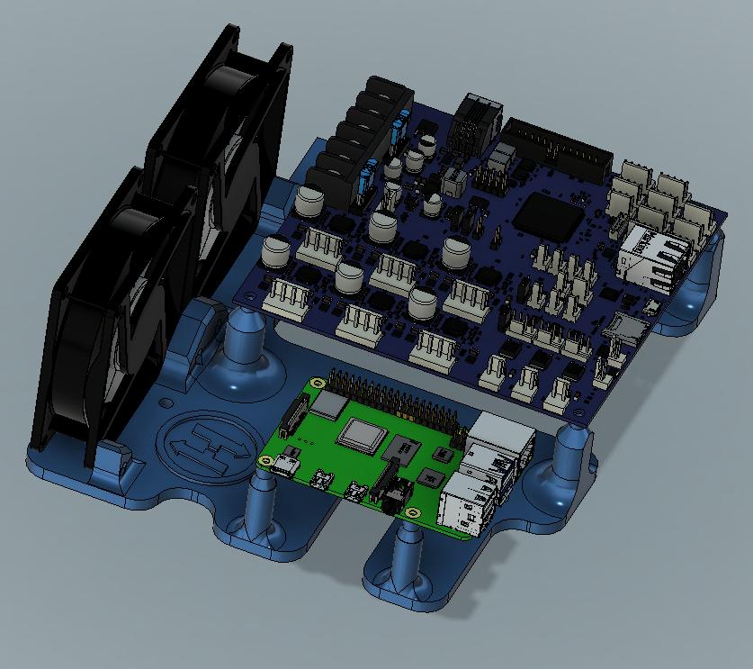 Duet 3 & Raspberry Pi 4b mount