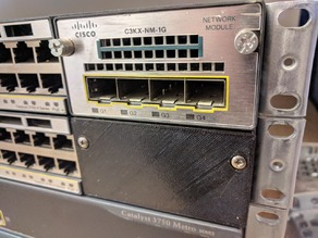 Cisco Catalyst 3750-X Module Slot Cover