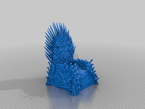 GoT Iron Throne - simplified