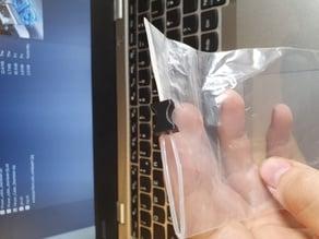 Zip-bag zipper
