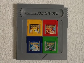 Giant GAMEBOY Cartridge HOLDER