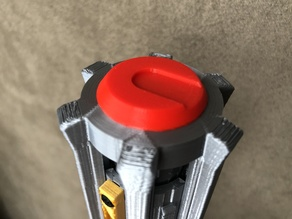 Ben Solo / Kylo Ren Lightsaber Belt Hook & Button mods