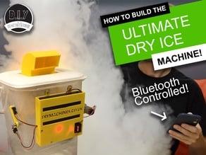 The Ultimate Bluetooth Dry Ice Machine -  3D Printed | Elegoo Arduino | DIY | Halloween