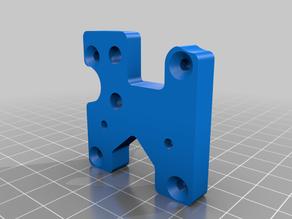 Simple Ender 5 Hemera mounting plate