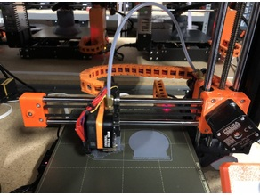 Prusa Mini X Axis Cable Chain and Mounts
