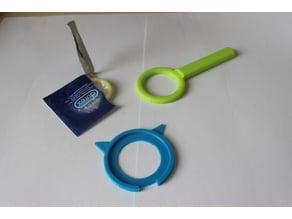 Condom Pocket Shot