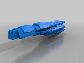 Eclipse warship