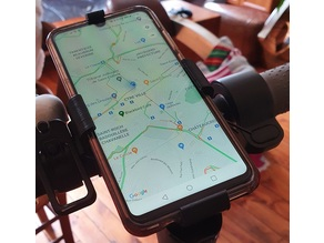 Support Smartphone pour Trotinette M365 Xiaomi