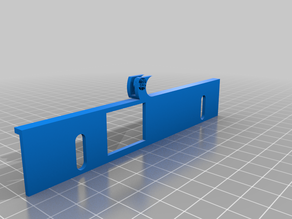 Monoprice Select Mini V2 Bed Cable Clamp