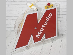 Wrench holder for Martusha Filament System