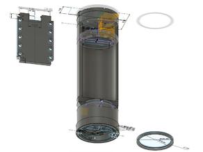Lightsaber Chassis MHSV1 Proffie Big Battery