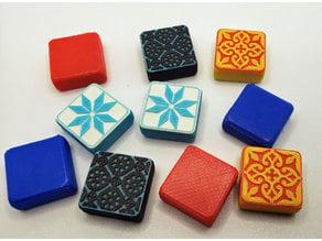 RifRaf Azul Tile Game