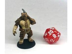 D&D - Werebear with Axe
