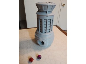 Warp Core Dice Tower