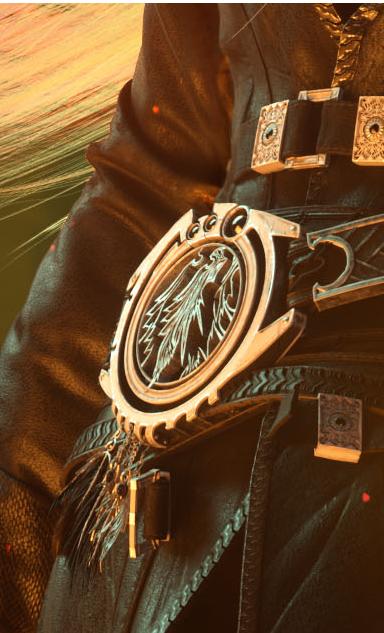 Sephiroth Belt Buckle (Final Fantasy VII Remake)