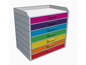 Electronic Component Stackable Drawers