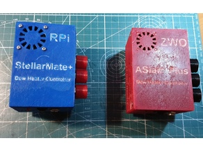 Extension board for ASiair /  StellarMate + Dew Heater Controller and Power Hub