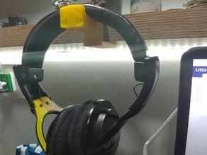 shelf headphone hanger