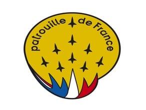 Logo de la Patrouille de France - compatible MMU
