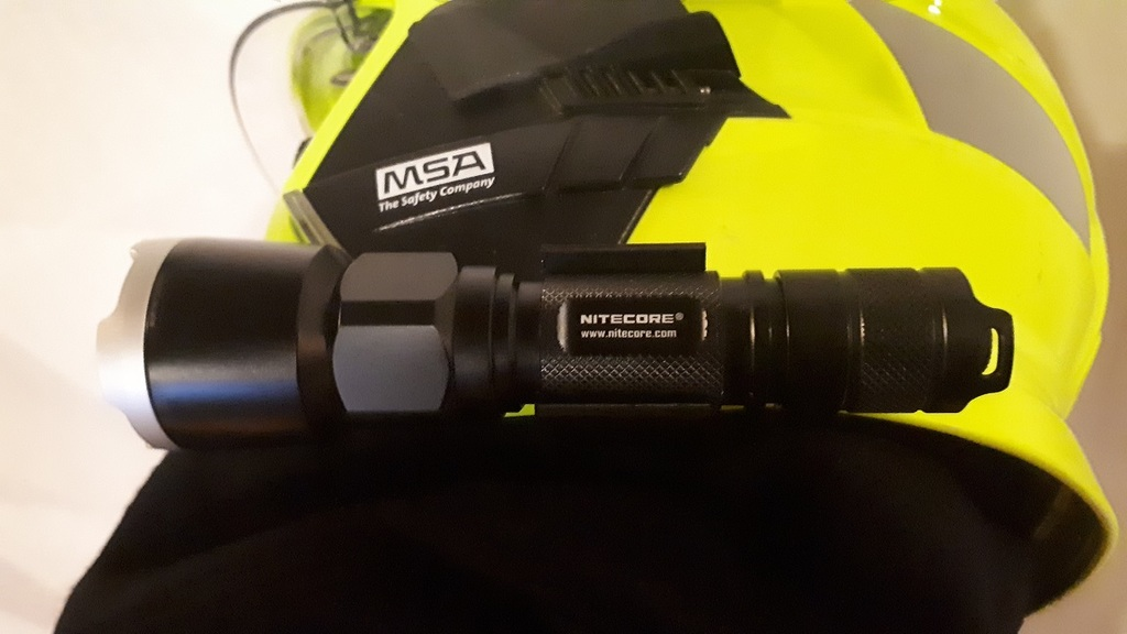 Nitecore Clamp for MSA Gallet F1 XF