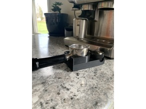 Breville Barista Express Tamping Station
