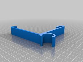 1/2 PVC to Vinyl Siding on Corner 3.75 inch Clip