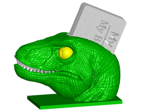 Velociraptor Business Card Holder