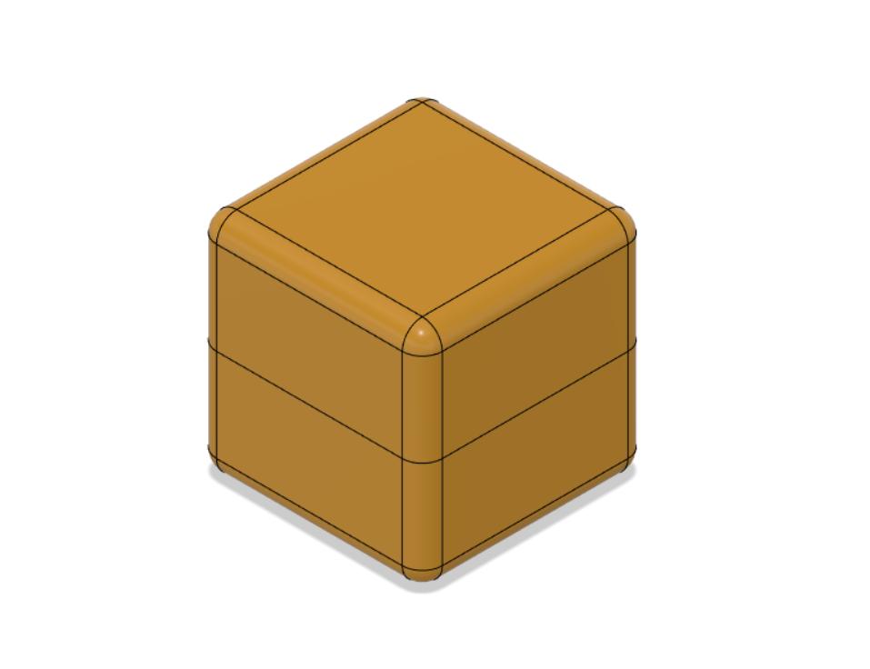 box Lemon 90x90 mm