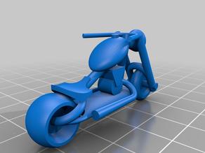 OpenSCAD Motorcycle