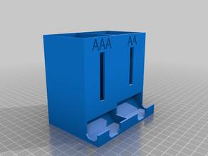 AA & AAA Battery Dispenser Remixed