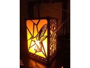 Battery Powered LED Flame Bulb Lantern