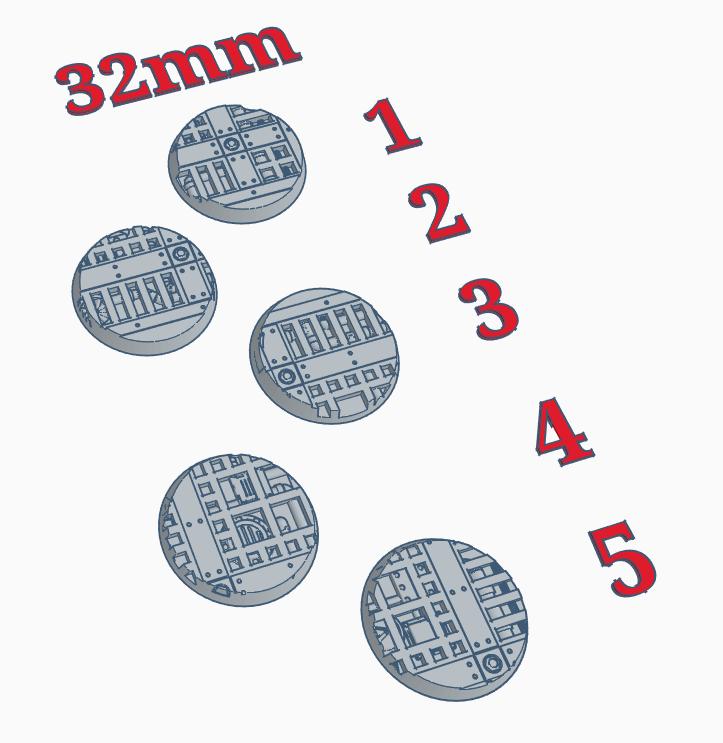 """32mm Bases """"Walkway"""""""