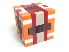 Arne's Cube - Interlocking puzzle by Alfons Eyckmans