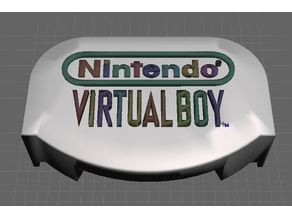 Virtual Boy Stand Medallion LARGER LOGOS