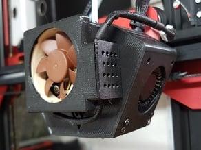TEVO Flash Tarantula Fan Duct with Heat Sink Adapter for 40mm Fan