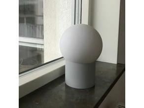 Scandinavian styled lamp