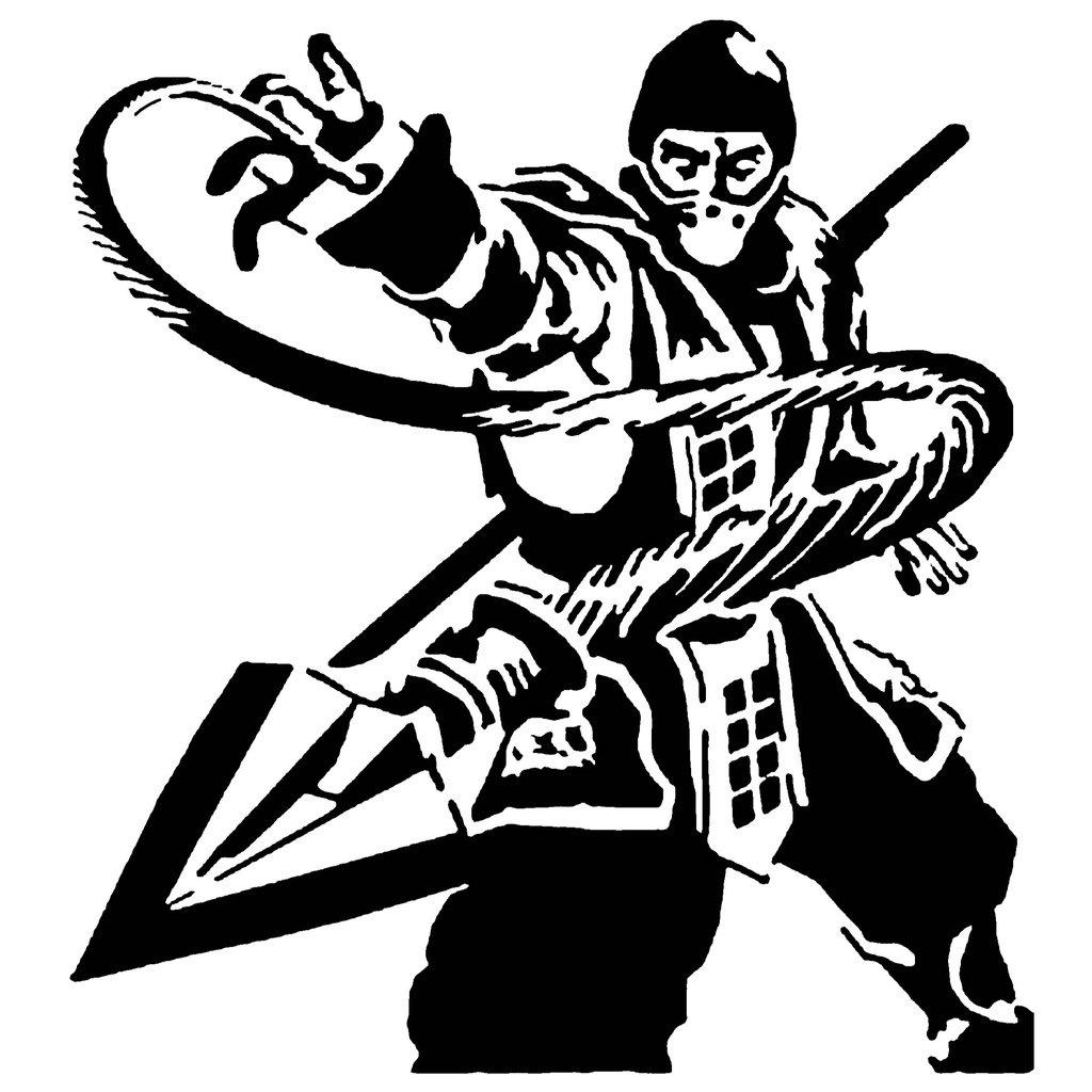 MK Scorpion stencil 3