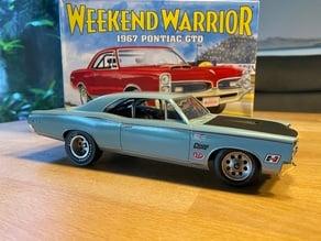 1/25 Muscle Car Pontiac GTO 1967