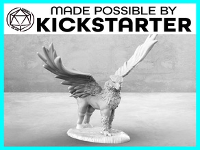 Hippogriff - Action Pose - Tabletop Miniature
